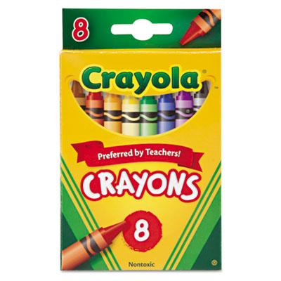 CRAYON , CLSC COLOR , 8ST , AST