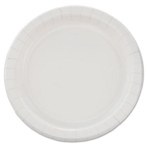 Bare Eco-Forward Clay-Coated Paper Dinnerware ,  Plate ,  8 1/2  dia ,  500/Carton