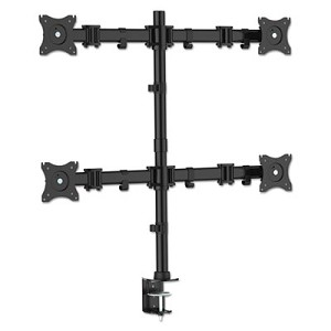 Articulating Multiple Monitor Arms for Four Monitors, Desk Mount