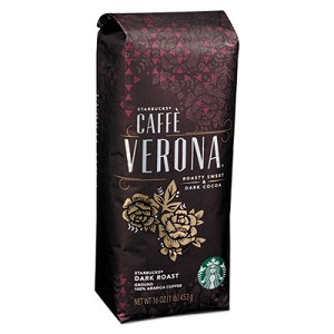 Coffee, Caffe Verona, Ground, 1lb Bag
